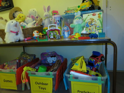 St. Aidan's Thrift Shop - We have all kinds of toys.