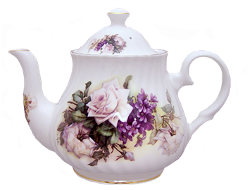 thrift shop teapot