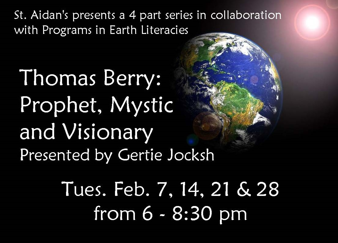 2017-Feb Thomas Berry Workshop