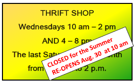 Thrift Shop Summer Button